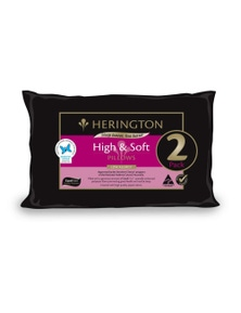 Jaspa Herington Low Allergy High & Soft Pillow Set 2 Pack