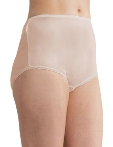 Baselayers Nylon Tricot Full Brief 2 Pack