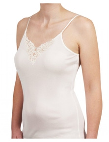 Baselayers Pure Merino Wool 200GSM Cami with Motif