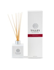 Tilley Classic White - Reed Diffuser 150ml - Pomegranate
