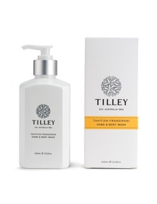 Tilley Classic White - Body Wash 400ml - Tahitian Frangipani