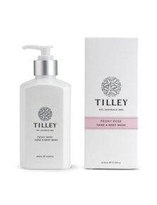 Tilley Classic White - Body Wash 400ml - Peony Rose