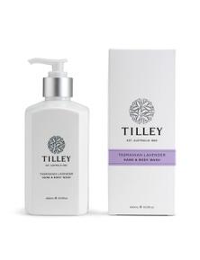 Tilley Classic White - Body Wash 400ml - Tasmanian Lavender