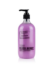 Tilley Scents Of Nature - Body Wash 500ml - Very Mixed Berry