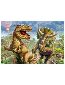 Tilbury Puzzle - T-Rex and Triceratops 1000Pc