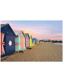 Tilbury Puzzle - Brighton Beach Boxes 1000Pc