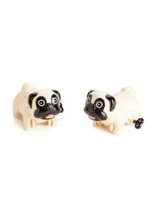 Wind Up Racing Pugs - Set of 2