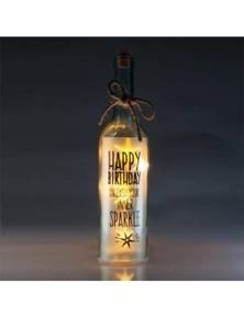 Wishlight Bottle - Happy Birthday