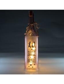Wishlight Bottle - 40th Birthday