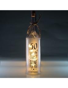 Wishlight Bottle - 50th Birthday