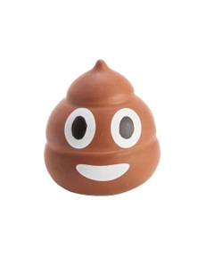 Koolface Smiling Poo Stress Relief Ball