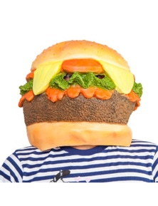 Madheadz Party Mask - Burger