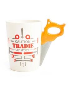 Tradie Mates Mug - Saw