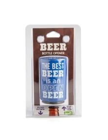 Push Down Bottle Opener - Open Beer