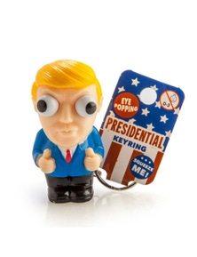 Donald Trump Eye Popper Keychain