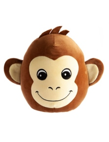 Mallow Pals Cushion - Monkey