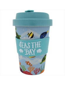 Eco-to-Go Bamboo Cup - Sea Animal