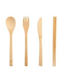 Australiana Eco-to-Go Bamboo Cutlery Set