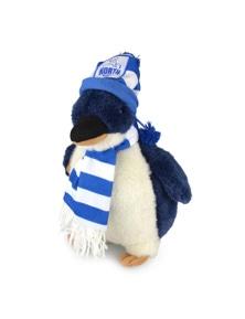 Afl Penguin Nth Melbourne Orig (D) Kids 25Cm Soft Penguin Toy 3Y+