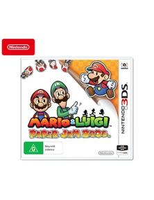 Nintendo 3DS MarioLuigi Paper Jam Bros. Game