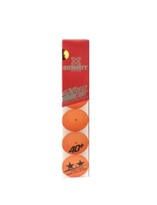 Summit 2 Star Table Tennis Plastic Balls 6pc