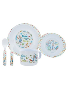 Beatrix Potter Classic Peter Rabbit 5pc Dinner Set (2020)