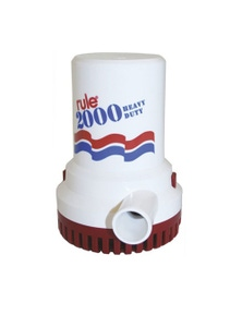 TechBrands Boat Bilge Pump (Rule 10 2000GPH 12V)