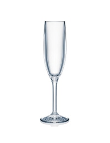 TechBrands Strahl Polycarbonate Champagne Drinking Glass Flute 166mL