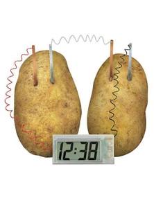 TechBrands Educational Potato Powered Clock Kit