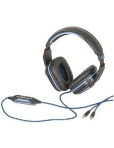 TechBrands Gaming Headphones w/ Adjustable Microphone