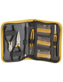 TechBrands 35 Piece Multi-purpose Precision Tool Kit w/ Vinyl Case