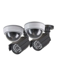 TechBrands Dummy Security Camera - Anti-theft Kit