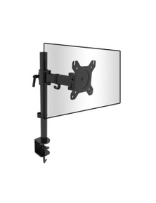 TechBrands Monitor Desk Mount Single Bracket (Black)