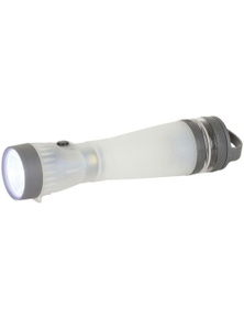 TechBrands 6 in 1 Survival Torch w/ Storage Compartment