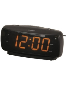 Digitech Compact Portable 240V Large Digital Alarm Clock AM/FM Radio
