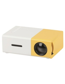 TechBrands Portable LED Projector w/ HDMI & USB