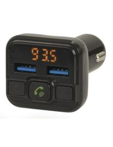 TechBrands Bluetooth H/Free USB LED FM Transmitter