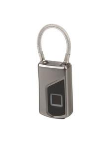 TechBrands Luggage Padlock with Fingerprint Scanner