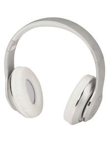 TechBrands Wireless Bluetooth Headphones w/ FM Radio Function/Micro SD