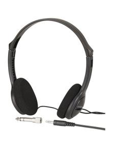 TechBrands Lightweight Heavy Bass Stereo Headphones