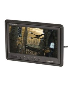 """TechBrands 7"""" TFT LCD Widescreen Colour Monitor with IR Remote"""
