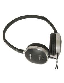 TechBrands High Quality Lightweight Stereo Headphones w/ Swivel