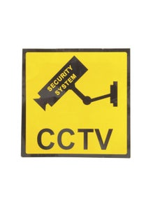 TechBrands CCTV Security Sign (120x120mm)