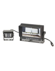 """TechBrands Wired Reversing Camera with 7"""" LCD Monitor"""