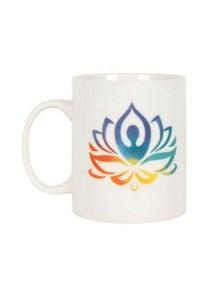 Yoga Lotus Ceramic Mug