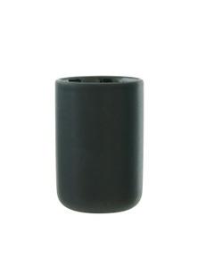 Salt&Pepper Suds Ceramic Tumbler 10cm Black
