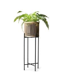 Salt&Pepper Rhythm Plant Stand Natural 35x100cm