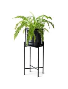 Salt&Pepper Rhythm Plant Stand Black 35x80cm