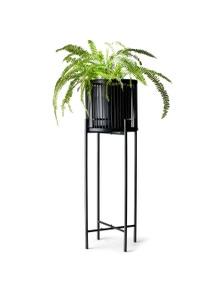 Salt&Pepper Rhythm Plant Stand Black 35x100cm