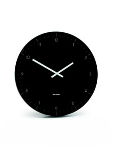 Salt&Pepper Zone Elio Metal 53.5cm Black Clock